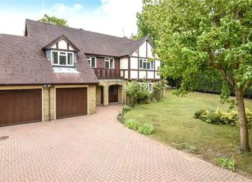 Thumbnail 5 bed detached house for sale in Blackwater, Camberley