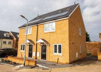 Thumbnail 3 bed semi-detached house for sale in Saffory Close, Eastwood, Leigh-On-Sea