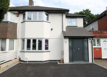 Thumbnail 4 bed semi-detached house for sale in Arlington Drive, Carshalton