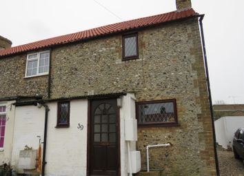 Thumbnail 2 bed semi-detached house for sale in West Street, Isleham, Ely, Cambridgeshire