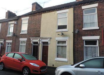 Thumbnail 2 bedroom terraced house to rent in Allen Street, Hartshill, Stoke-On-Trent