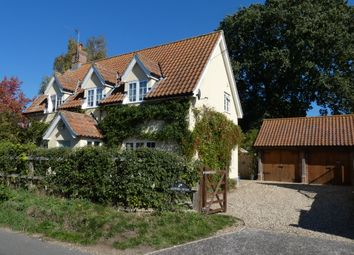 Thumbnail 5 bed cottage for sale in The Street, Woodton, Suffolk