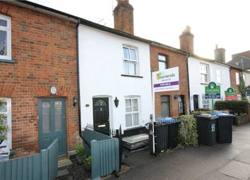Thumbnail 4 bed terraced house to rent in St Judes Road, Englefield Green, Surrey