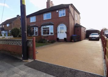 Thumbnail 3 bed semi-detached house for sale in Fairfield Avenue, Brown Edge, Staffordshire
