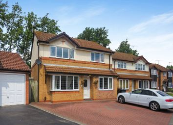 Thumbnail 4 bed detached house for sale in Longford Avenue, Little Billing, Northampton