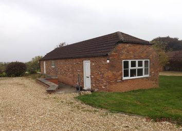 Thumbnail 2 bed detached bungalow to rent in Mavis Enderby, Spilsby