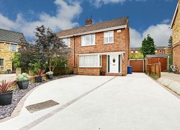 Thumbnail 3 bed semi-detached house for sale in Oakdale Avenue, Willerby, Hull