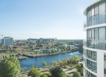 Thumbnail 3 bed flat for sale in Northill Apartment, Fortis Quay, Salford
