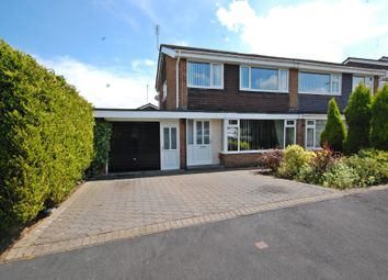Thumbnail 3 bed semi-detached house for sale in Deneside, Sacriston, Durham