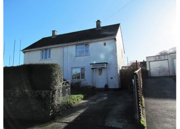 Thumbnail 2 bedroom semi-detached house for sale in Shortwood Crescent, Plymouth
