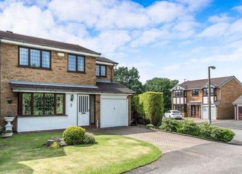 Thumbnail 4 bed detached house for sale in Salisbury Drive, Cannock, Staffordshire