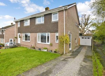 Thumbnail 3 bed semi-detached house for sale in Canhaye Close, Plymouth, Devon