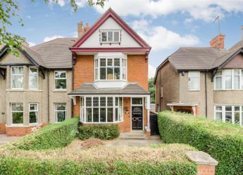 Thumbnail 6 bed semi-detached house for sale in Queens Park Parade, Northampton