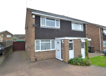 Thumbnail 2 bed semi-detached house to rent in Lowick Court, Moulton, Northampton