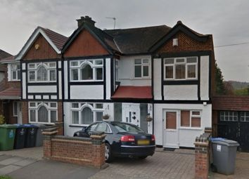 Thumbnail 1 bed maisonette to rent in Windermere Avenue, Wembley