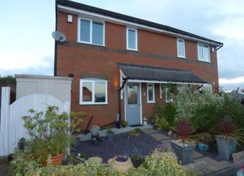 Thumbnail 3 bed semi-detached house for sale in Vron Close, Brymbo, Wrexham, Wrecsam