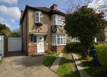 Thumbnail 3 bed semi-detached house to rent in Manor Drive, London