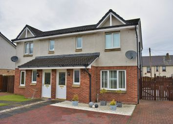 Thumbnail 3 bed semi-detached house for sale in Harvie Gardens, Bathgate
