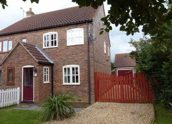 Thumbnail 2 bed semi-detached house for sale in Paddock Lane, Metheringham, Lincoln