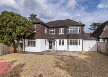 Thumbnail 5 bed detached house to rent in Woodfield Lane, Ashtead