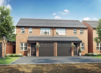 """Thumbnail 3 bed semi-detached house for sale in """"The Rufford  """" at Oakington Road, Cottenham, Cambridge"""