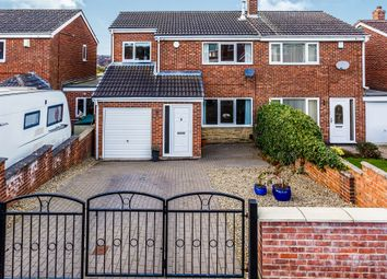 Thumbnail 4 bed semi-detached house for sale in Newhill Road, Monk Bretton, Barnsley