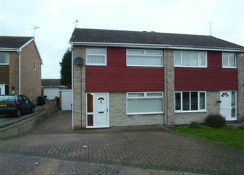 Thumbnail 3 bed semi-detached house to rent in 11 Spilsby Close, Cantley