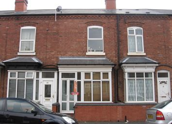 Thumbnail 3 bed terraced house to rent in Willmore Road, Perry Barr, Birmingham