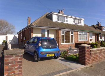 Thumbnail 3 bed semi-detached bungalow for sale in Hexham Avenue, Thornton-Cleveleys