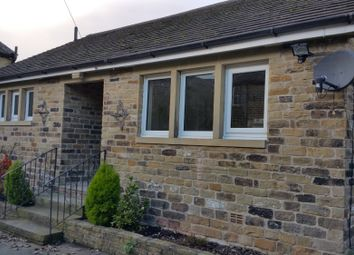 Thumbnail 1 bed detached bungalow to rent in New Hey Road, Salendine Nook, Huddersfield