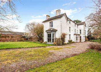 Thumbnail 8 bed property for sale in Eaton-Upon-Tern, Market Drayton, Shropshire