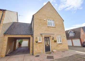 Thumbnail 3 bed link-detached house for sale in Station Gate, Burwell, Cambridge