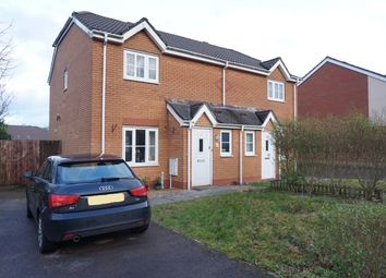 Thumbnail 3 bed semi-detached house for sale in Wern Fach, Hengoed
