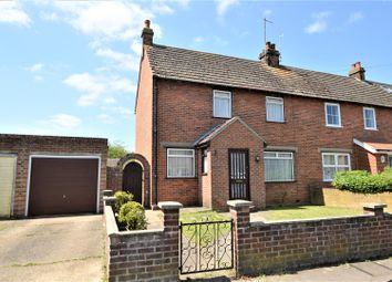 Thumbnail 3 bed end terrace house for sale in Defoe Crescent, Mile End, Colchester