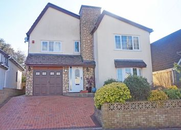 Thumbnail 4 bed detached house for sale in Gellideg Heights, Maesycwmmer