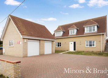 Thumbnail 5 bed detached house for sale in St. Marys Road, Hemsby, Great Yarmouth