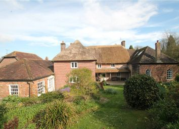 Thumbnail 5 bed detached house for sale in Higher Street, Okeford Fitzpaine, Blandford Forum, Dorset