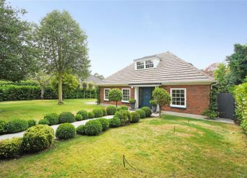 Thumbnail 3 bed detached bungalow for sale in Old Avenue, Weybridge, Surrey