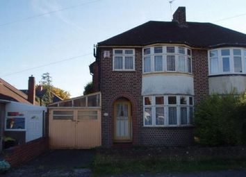 Thumbnail 3 bed semi-detached house to rent in Heath Way, Hodgehill, Birmingham