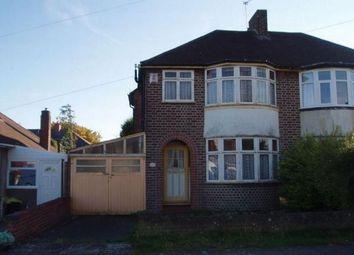 Thumbnail Semi-detached house to rent in Heath Way, Hodgehill, Birmingham