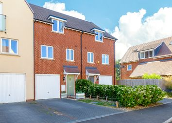 Thumbnail 3 bed town house for sale in Garner Drive, St. Ives, Huntingdon