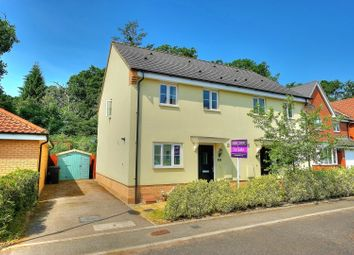 Thumbnail 3 bedroom semi-detached house for sale in Blyth's Wood Avenue, Norwich