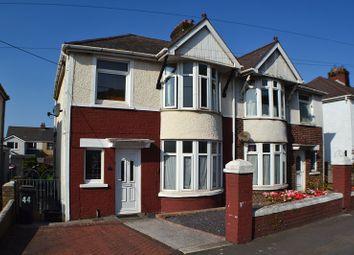 Thumbnail 3 bed semi-detached house for sale in Bracken Road, Margam, Port Talbot, Neath Port Talbot.