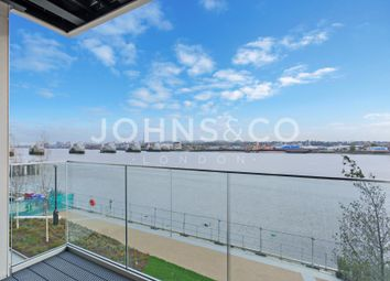 Thumbnail 1 bed flat to rent in Liner House, Royal Wharf, London