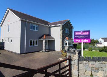 Thumbnail 5 bed detached house for sale in Rhostryfan, Caernarfon