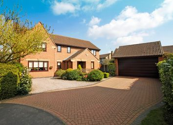 Thumbnail 5 bed detached house for sale in Somes Close, Uffington, Stamford