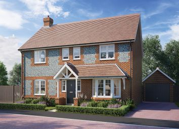 Thumbnail 4 bed detached house for sale in Overton Hill, Overton