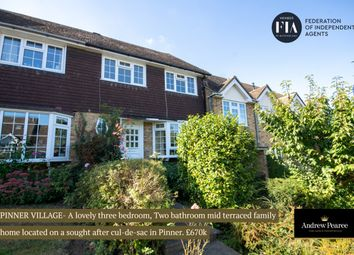3 bed terraced house for sale in Wakehams Hill, Pinner HA5