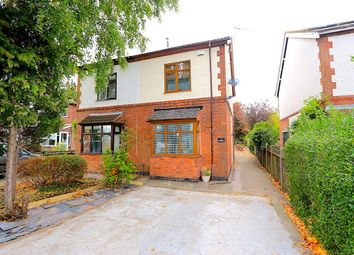 Thumbnail 4 bed semi-detached house for sale in Leicester Lane, Desford, Leicester