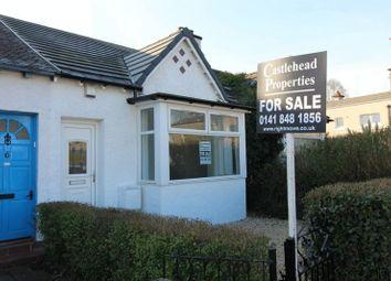 Thumbnail 1 bedroom cottage for sale in Beechwood Drive, Renfrew